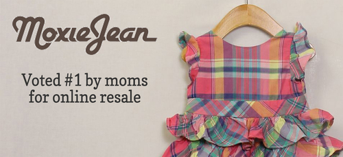 "Moxie Jean was voted the #1 site for online resale by moms nationwide in the 2013 ""Totally Awesome Awards"" from Red Tricycle.  (PRNewsFoto/Moxie Jean)"