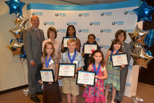 Astoria Federal Savings Announces Top Winners of Its Eighth Annual 'Teach Children to Save' Essay