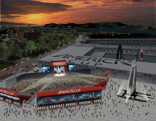 America's Cup Partners with Live Nation to Present 2013 America's Cup Concert Series in San