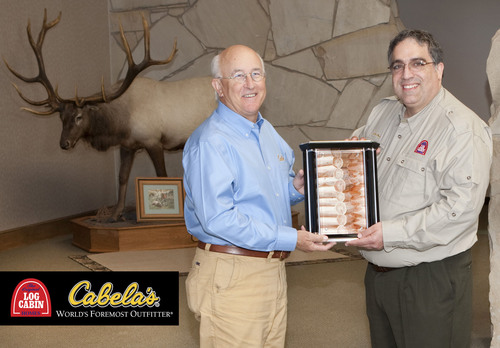 Cabela's Selects The Original Log Cabin Homes for Launch