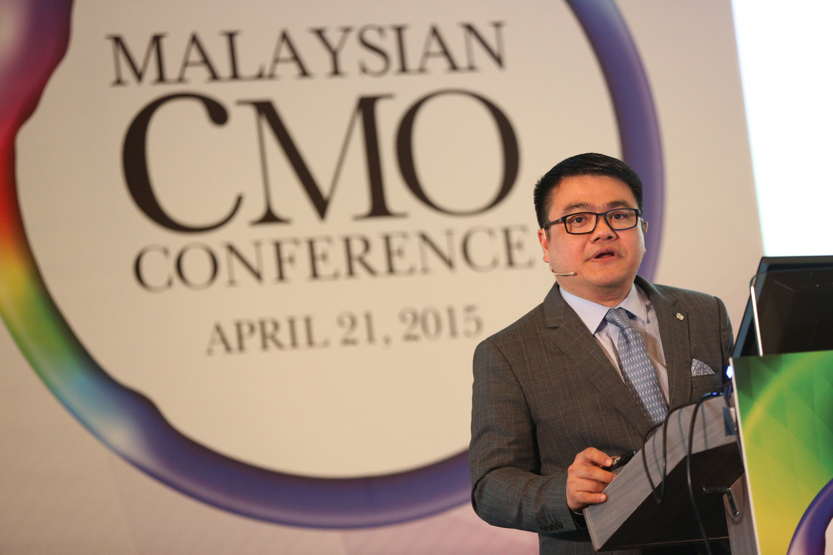 Tencent's SY Lau Tells Malaysian CMO Conference that China has now entered the era of Digitalization 3.0