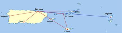 Cape Air Launches Non-Stop Service Between Anguilla and San Juan.  (PRNewsFoto/Cape Air)