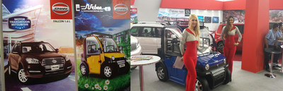 ZAP and Jonway Auto Exhibits EV Products in Peru Auto Show