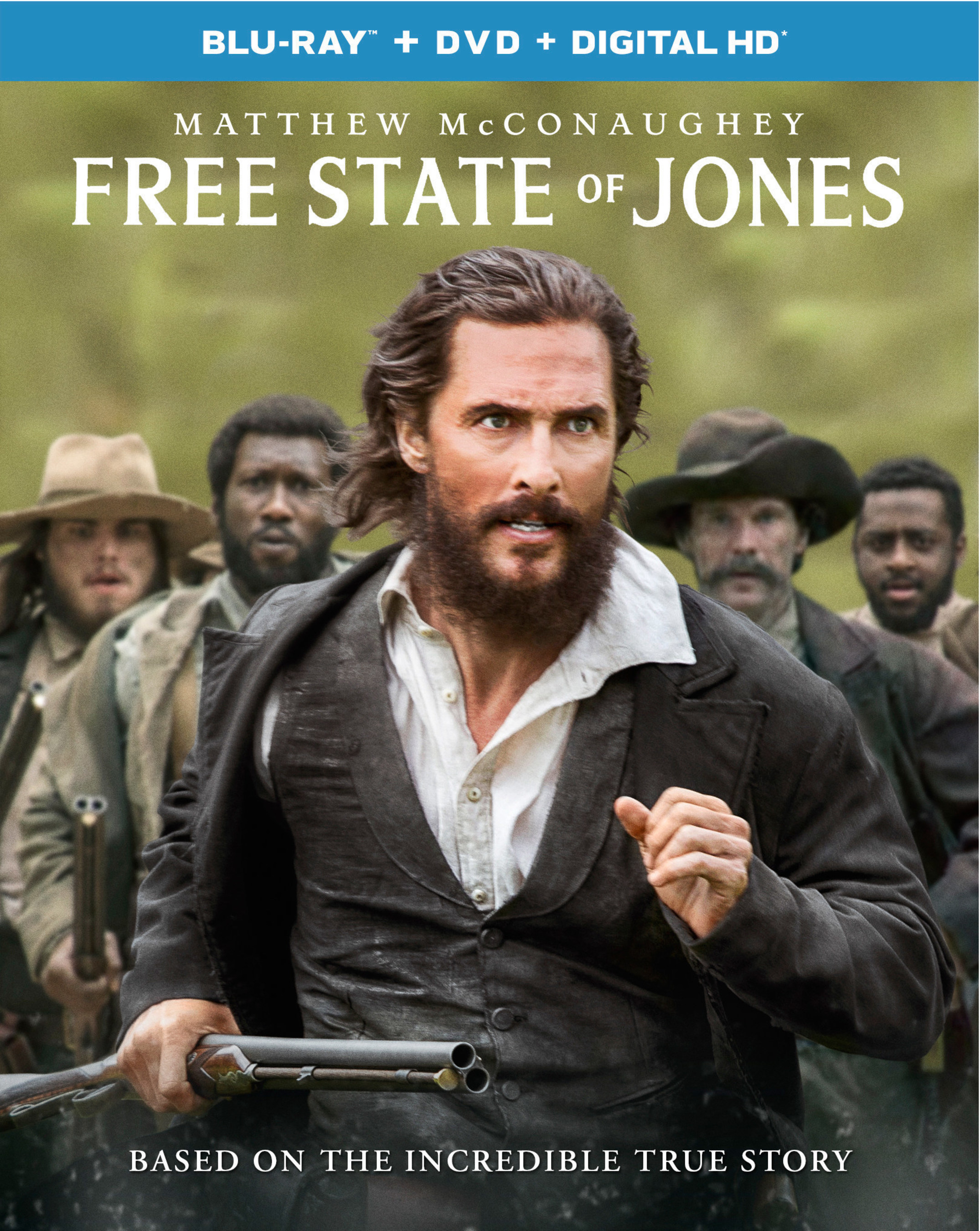 From Universal Pictures Home Entertainment: Free State of Jones