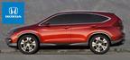 The 2014 Honda CR-V offers more storage, horsepower and towing capacity than the Dodge Journey. (PRNewsFoto/Benson Honda)