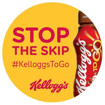 Stop the Skip with #KelloggsToGo.  (PRNewsFoto/Kellogg Company)