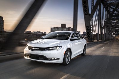 2015 Chrysler 200 scores highest possible overall safety rating from NHTSA