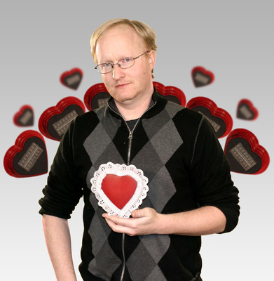 "element14 and Ben Heck spread the love with a Valentine's Day digital candy ""Tweet Heart"" on ""The Ben Heck Show"".  (PRNewsFoto/element14)"