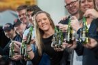 Team Tennent's toast Scottish Olympians success