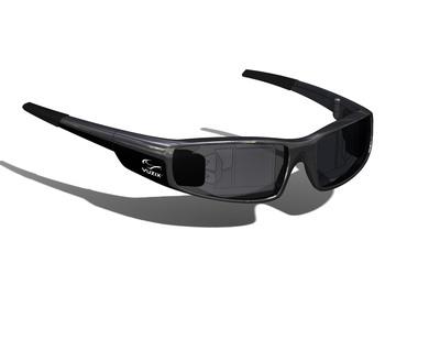 Vuzix Announces See-Through HD Augmented Reality Glasses in a Designer Sunglasses Form Factor.  (PRNewsFoto/Vuzix Corporation)