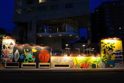The James New York and Grey Area Unveil New Public Art Installation by Paul Wackers.