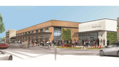 Rendering of Whole Foods at Closter Plaza.