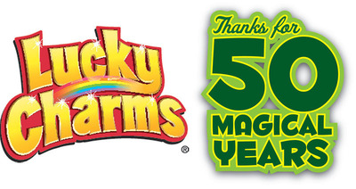 Celebrate 50 years of magically delicious fun at LuckyWasHere.com #LuckyWasHere