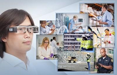 SMI Eye Tracking Upgrade for Augmented Reality Glasses, based on Epson Moverio BT-200 (PRNewsFoto/SensoMotoric Instruments)
