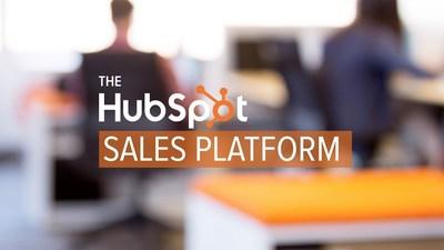 HubSpot Sales Platform (PRNewsFoto/HubSpot)