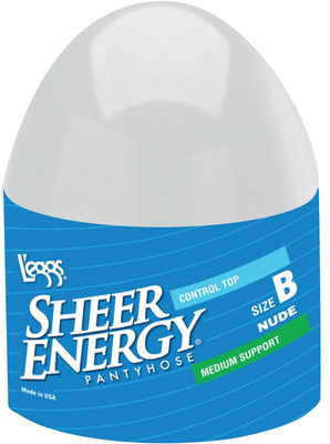 Fabulous over 40! L'eggs Relaunches Iconic Egg Packaging with a fun Sweepstakes. (PRNewsFoto/L'eggs Sheer Energy) (PRNewsFoto/L'EGGS SHEER ENERGY)