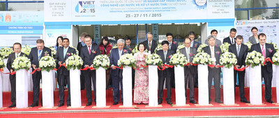 Grand Opening Ceremony of Vietwater and RE & EE Vietnam 2015
