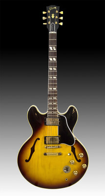 J. Levine Auction & Appraisal's three-day auction starts October 27 and features Eric Clapton's Gibson 1964 ES-345. The famous rock legend's guitar comes with strong provenance. It was purchased at auction in 1999 and displayed at the Musical Instrument Museum in Phoenix for many years. www.jlevines.com.