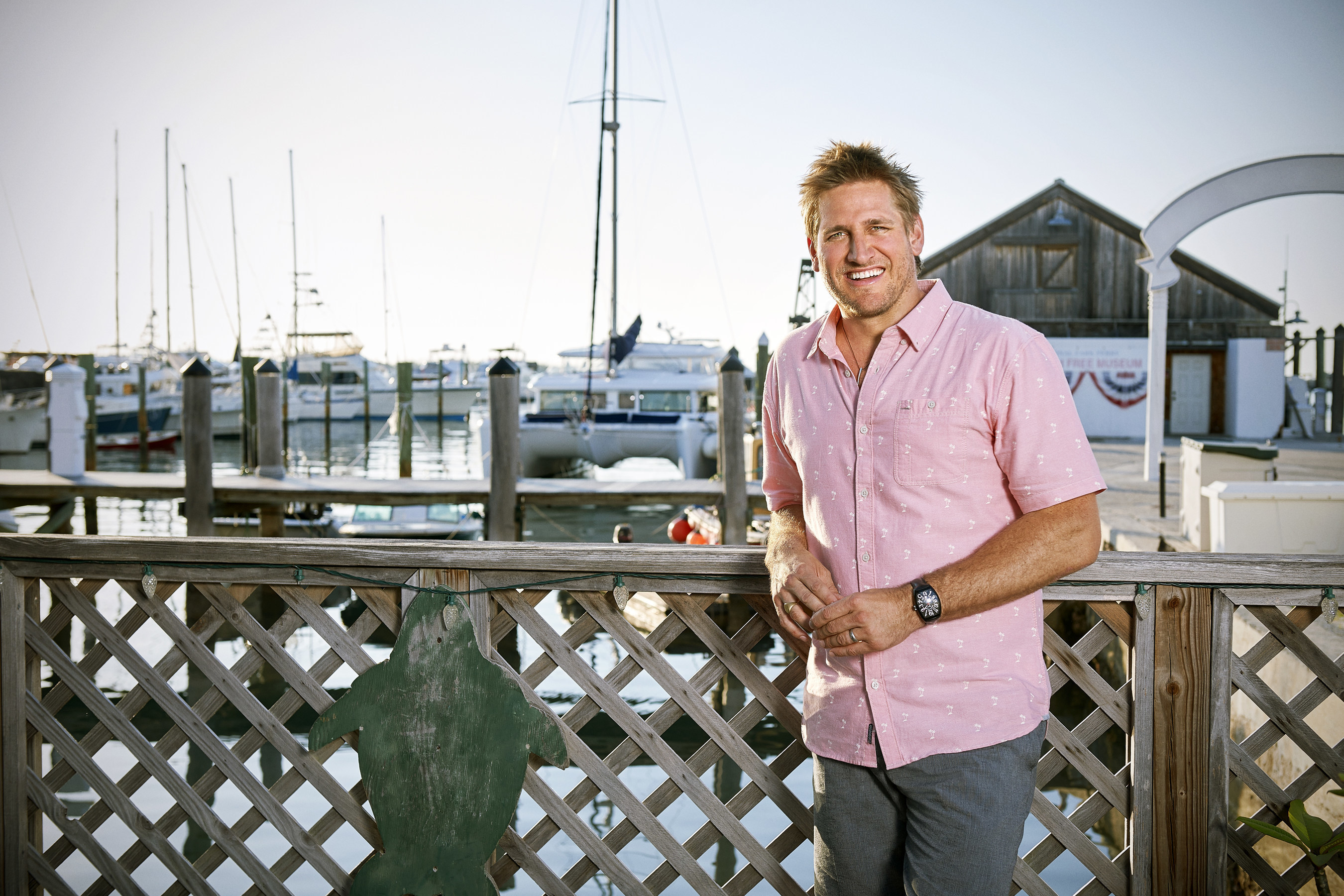 Bring Your Sunscreen And Your Appetite For Food Network's Beach Eats USA With Host Curtis Stone