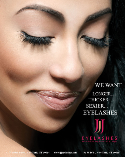 JJ Eyelashes is NYC's premiere destination for eyelash extensions and permanent makeup.  (PRNewsFoto/Lashpia Corporation)