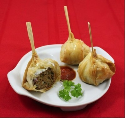 Phyllo Meatballs - Delight in delicious holiday appetizers and desserts from Athens Foods!