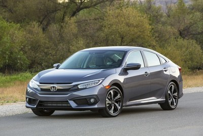 2016 Civic, the North American Car of the Year, helps Honda and itself to January sales records
