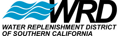 Water Replenishment District (WRD) logo.  (PRNewsFoto/Water Replenishment District of Southern California)