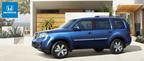 Now released for 2015, the Honda Pilot is a versatile and vacation-ready large crossover SUV. (PRNewsFoto/Metro Honda)