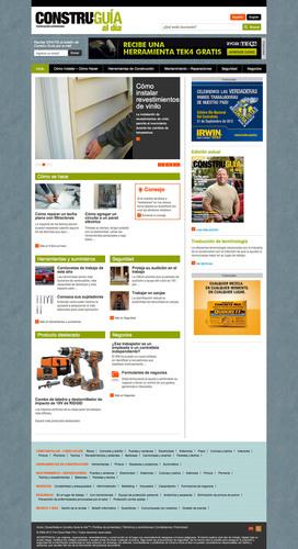 Constru- Guía al día rediseña su sitio web, MiConstruGuia.com