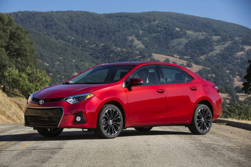 The completely redesigned 2014 Toyota Corolla offer consumer even more value.  (PRNewsFoto/Allan Nott Car Dealership)