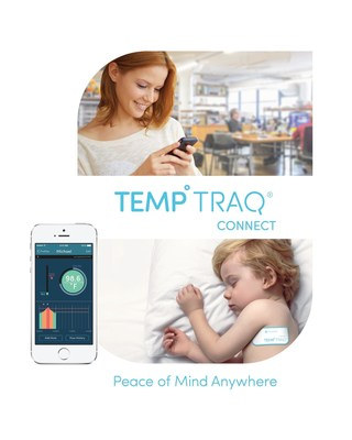 For the first time ever, caregivers can remotely monitor their loved ones' temperature anywhere in real-time, providing peace of mind with TempTraq(R) Connect.