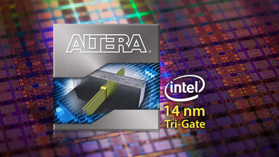 Altera to Build Next-Generation, High-Performance FPGAs on Intel's 14 nm Tri-Gate Technology.  (PRNewsFoto/Altera Corporation)