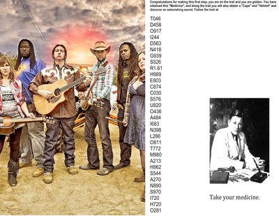 Gangstagrass and the trail letter