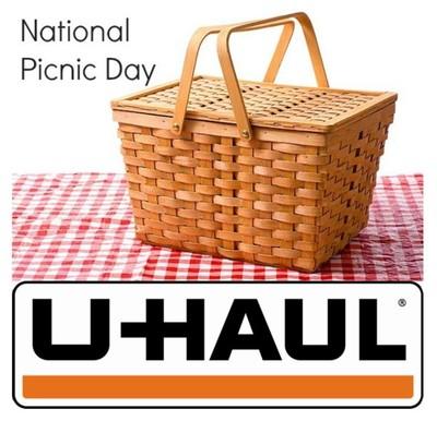 It's National Picnic Day! U-Haul Helps U-Celebrate (PRNewsFoto/U-Haul )