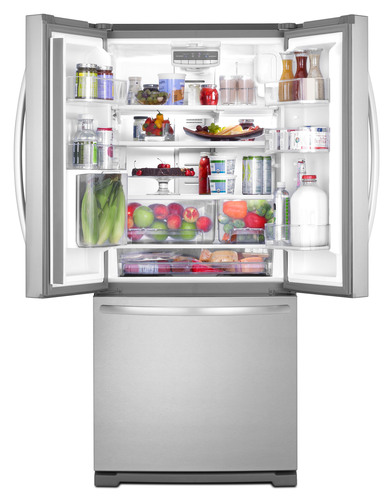 New 30-inch French Door Refrigerators From KitchenAid:  Compact With Premium Features