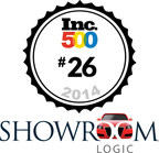 Automotive Digital Marketing Company Showroom Logic ranks #26 overall, #1 in Advertising & Marketing, and #1 in Automotive. (PRNewsFoto/Showroom Logic)