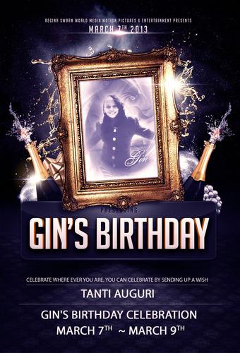 Gin Day.  (PRNewsFoto/Regina Swarn World Media Motion Pictures & Entertainment)