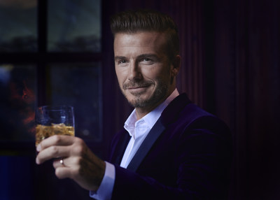 David Beckham toasts to the global launch of HAIG CLUB(TM)