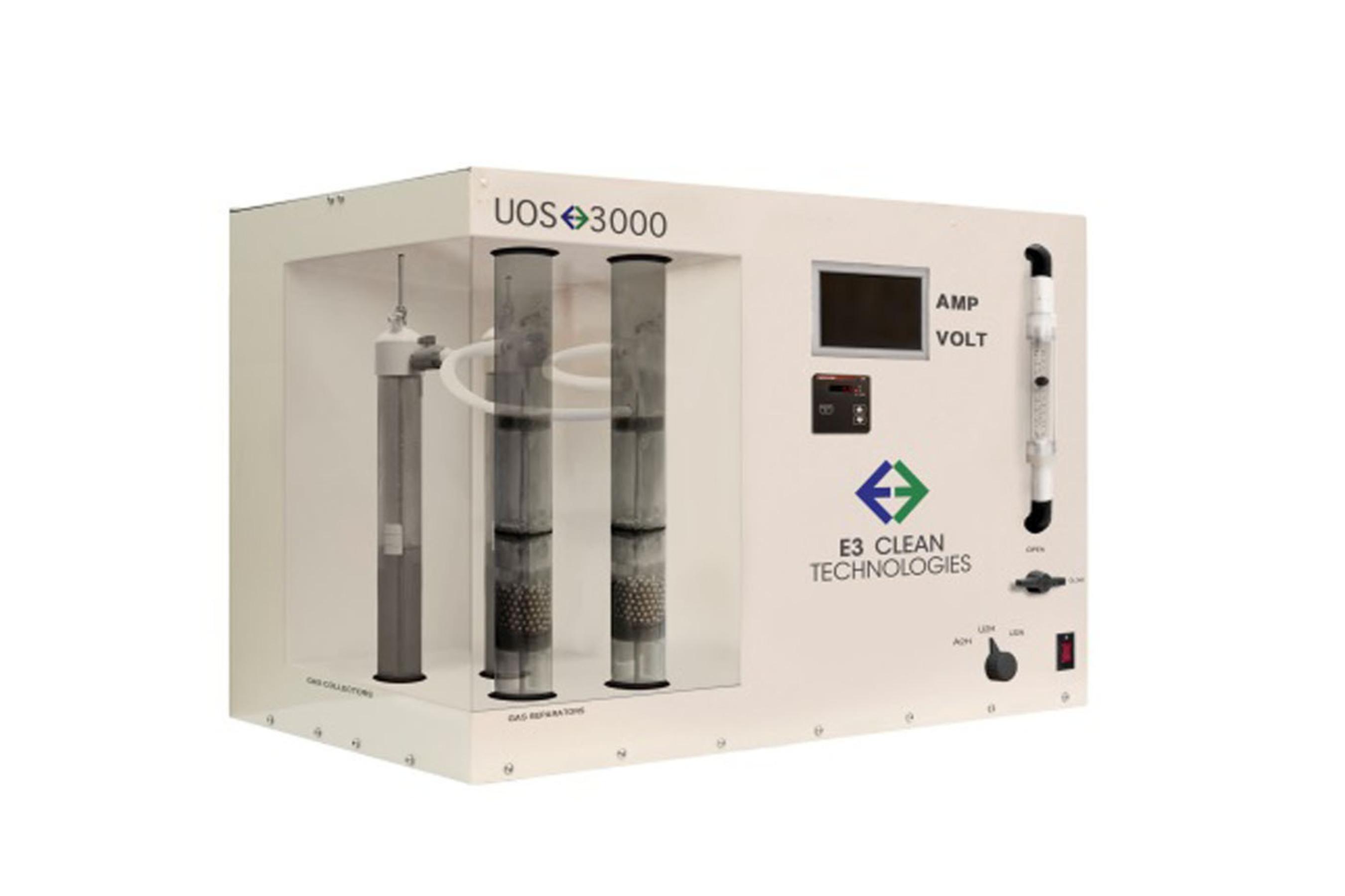 E3's Ammonia GreenBox.  (PRNewsFoto/E3 Clean Technologies)