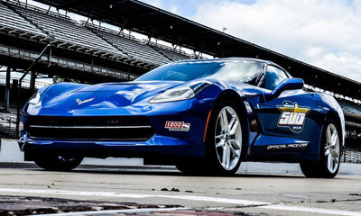 San Francisco 49ers head coach Jim Harbaugh will get behind the wheel of the 2014 Chevy Corvette Stingray to pace the 2013 Indianapolis 500.  (PRNewsFoto/Bill Jacobs Automotive Group)