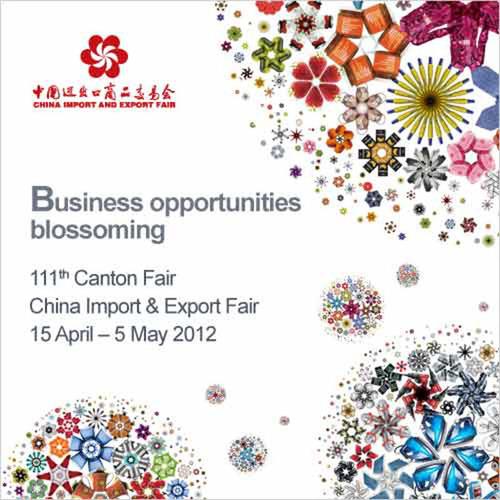 111th Canton Fair - China Import & Export Fair, 15 April - 5 May 2012.  (PRNewsFoto/China Foreign Trade Centre ...