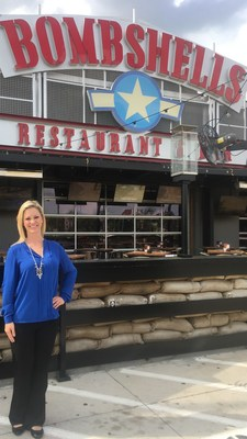 Shannon Glaser, newly named VP of Franchise and Concept Development of the fast-growing Bombshells Restaurant & Bar chain