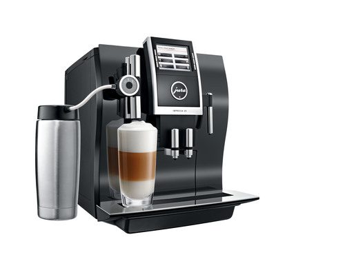 New Jura IMPRESSA Z9 One Touch TFT Automatic Coffee Center Offers Affordable Luxury