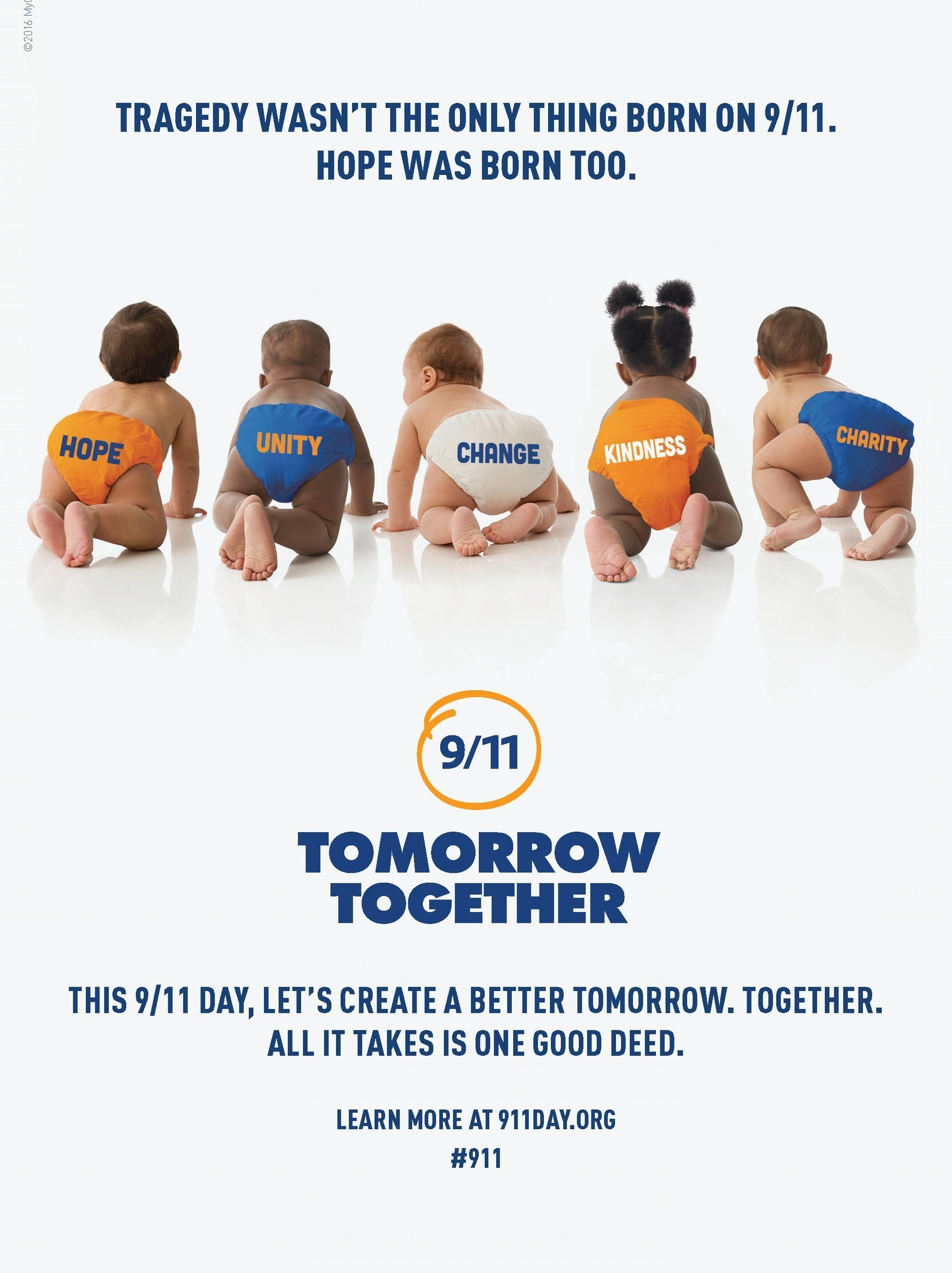 New PSA campaign promotes unity for 15th Anniversary of 9/11.