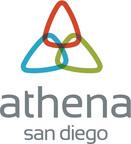 Athena San Diego logo.  (PRNewsFoto/PR Newswire Association LLC)