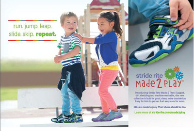Stride Rite(R) Made 2 Play(TM) collection is built around how kids play.  (PRNewsFoto/Stride Rite Children's Group)