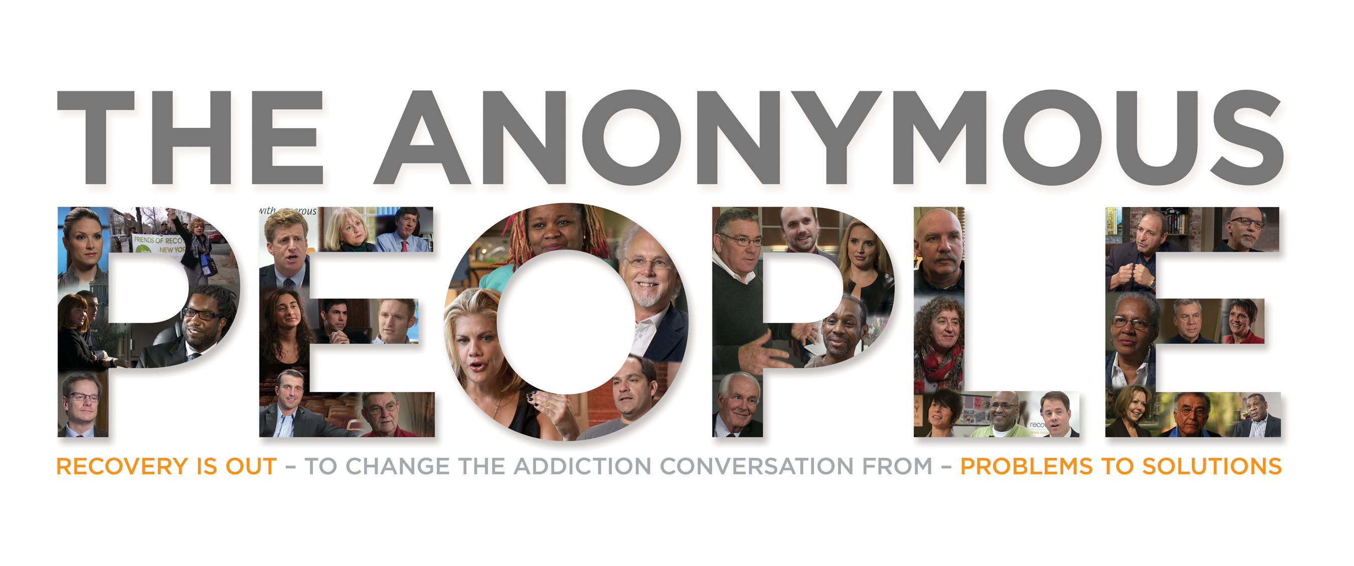 """""""The Anonymous People"""" film explores drug and alcohol addiction, enveloping over 23 million people and costing Americans over $350 billion annually, and the 23.5 million more Americans who are thriving in long-term recovery, despite discrimination, criminalization and a failing approach to healing. The documentary asks: Why don't we treat addiction in this country like any other health issue? Only when we shed disparaging labels, and demand respect, will the world give us the respect we are due. ManyFaces1Voice.org. #SilentNoMore. (PRNewsFoto/The Anonymous People) (PRNewsFoto/THE ANONYMOUS PEOPLE)"""