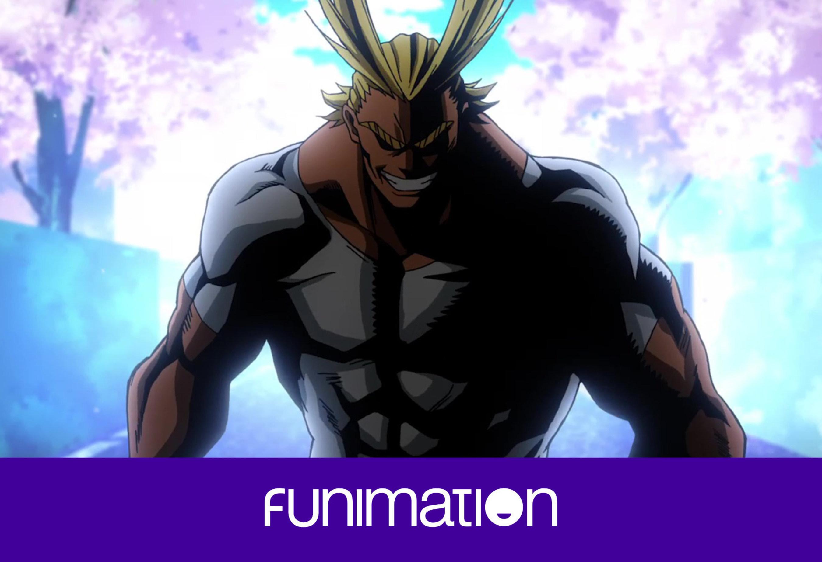 """Still from """"My Hero Academia."""" Courtesy Funimation Entertainment. (PRNewsFoto/Funimation Entertainment)"""