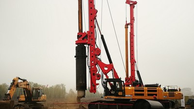 On Nov 20, SANY Heavy Machinery launched the C10 series rotary drilling rigs, available with a wide range of operating capacities.