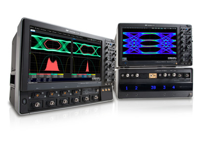 New LabMaster and WaveMaster oscilloscopes offer significant enhancements for engineers testing next-generation high-speed electrical and optical links.